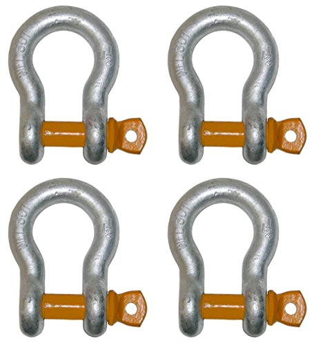 Set of 4, Ships in 1 to 2 Business Days! BA Products 11-AS58-x4, Strong! 5/8