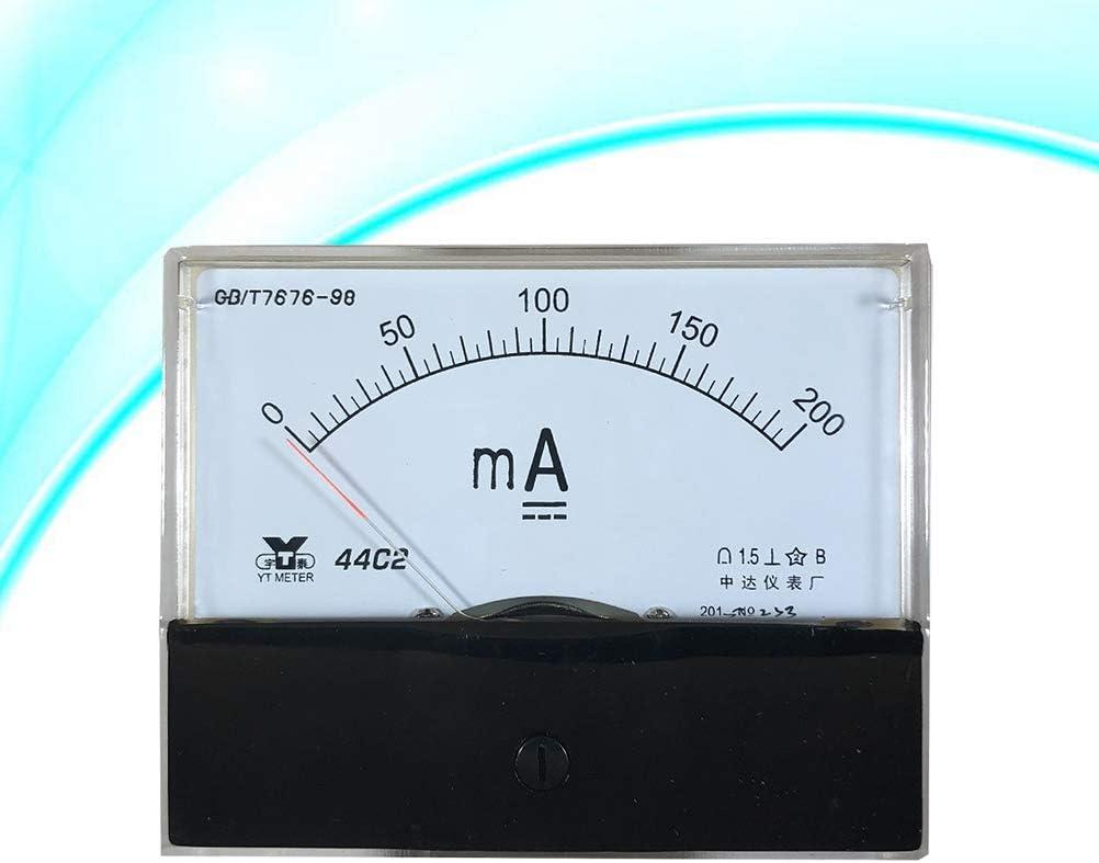 Vosarea 44C2 DC 200mA Amperometro analogico da Pannello