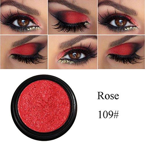 D-XinXin 1Colors Monochrome Eye Shadow of Mashed Potato,Glitter Shimmering Colors Eyeshadow Metallic Eye Cosmetic (I)