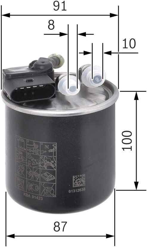 Bosch f026400289/cartucho filtro de aire