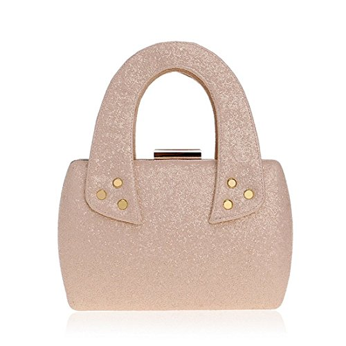 Handbag Champagne Europe America Dress Silver Fly Evening evening Ladies And Bag Color Ladies Evening bag Bag Sequin UqP0qa