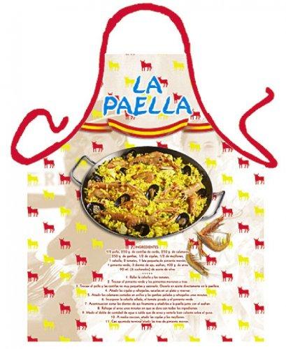 Speed de envío 1711 la Paella - Delantal para barbacoa y ...