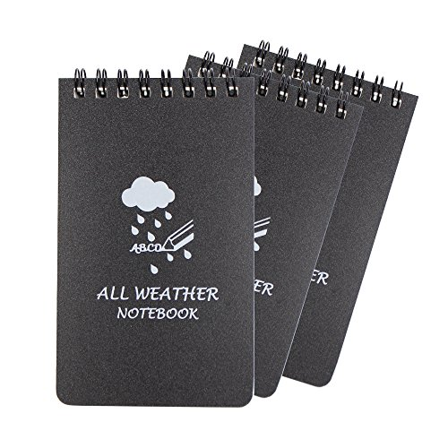 waterproof writing paper Record critical information any time, any where with thefirestore's wide selection of firefighter waterproof paper & notebooks this truly amazing, patented paper was created specifically for writing field notes in all weather conditions.