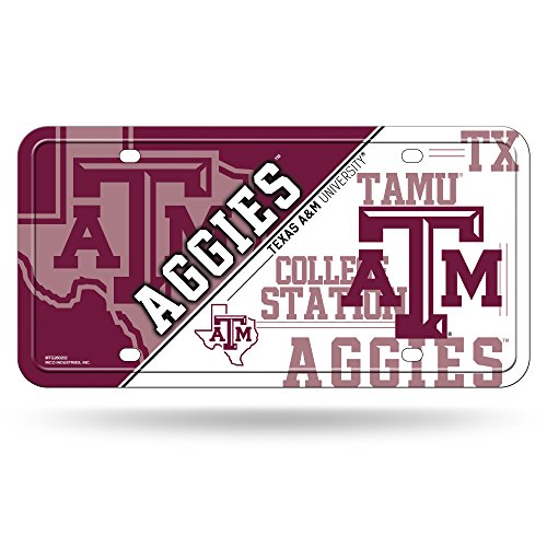 NCAA Texas A&M Aggies Metal License Plate ()