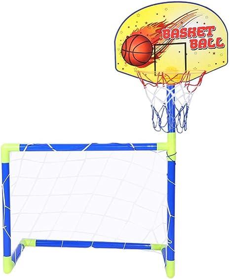 VGEBY - Balón de baloncesto para niños, portátil, desmontable ...
