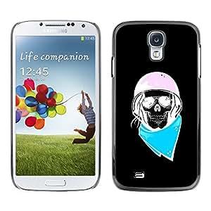 Estuche Cubierta Shell Smartphone estuche protector duro para el teléfono móvil Caso Samsung Galaxy S4 I9500 / CECELL Phone case / / Biker Blue Pink Black Biker Helmet /