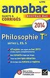 """Afficher """"Philosophie Tle L,ES,S"""""""