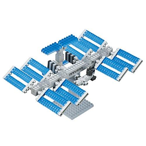 Nanoblock Space Station Building Set Building ()