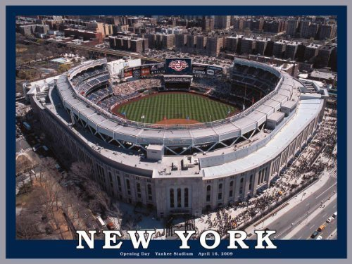 550 Piece Jigsaw Puzzle by White Mountain Puzzles White Mountain Puzzles New Yankee Stadium