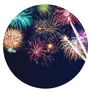 alfombrilla de ratón Tarjeta de Año Nuevo Año Nuevo - ronda - 20cm