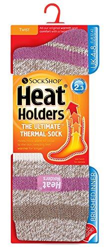 Heat Holders - Womens Original Ultimate Thermal Socks, One size 5-9 us (Patterdale 1878)