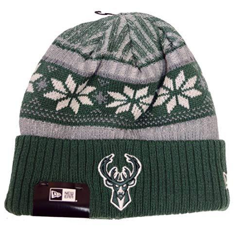 New Era Milwaukee Bucks Vintage Cuffed Knit Hat]()