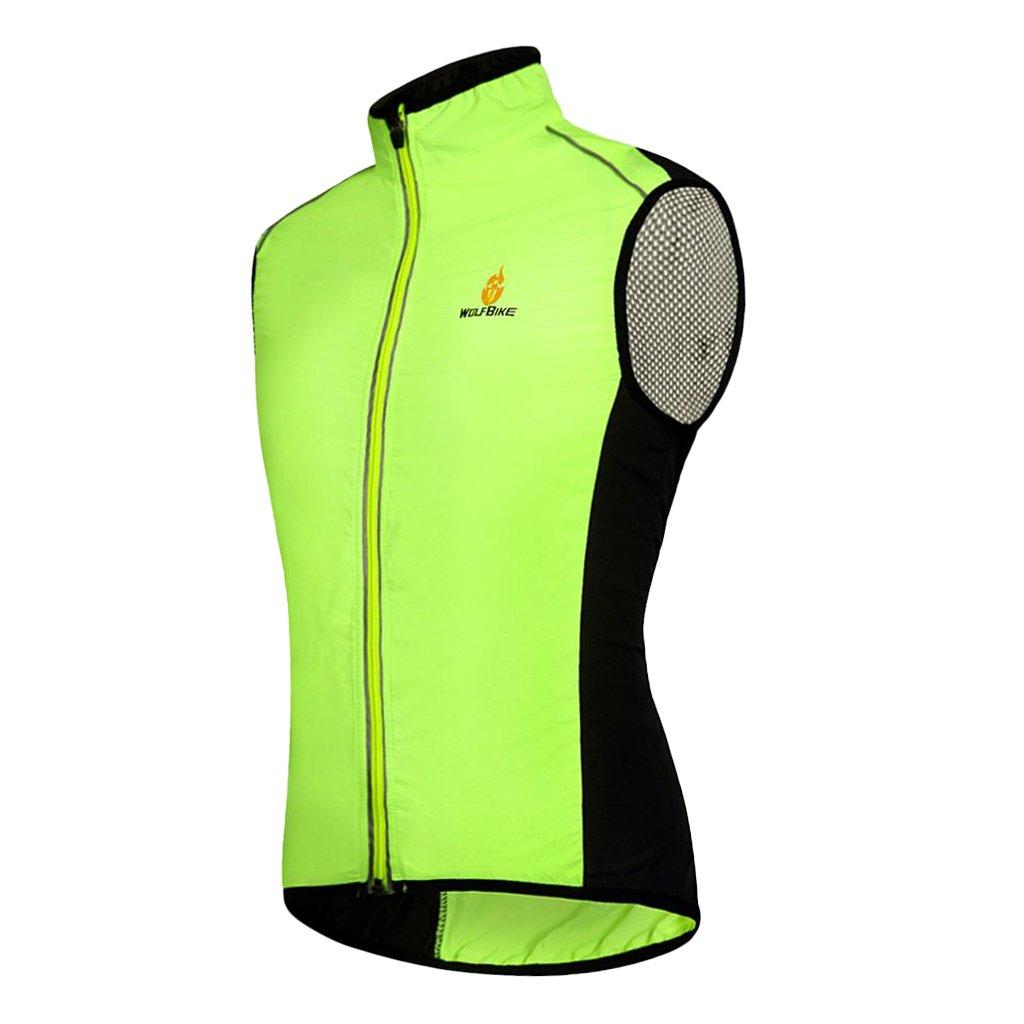 Gilet Riflettente Ciclismo; Gilet Senza Maniche FLAMEER Gilet da Ciclismo Felpe,Cappotto; Gilet; Gilet da Ciclismo Senza Maniche Sleeveless Vest