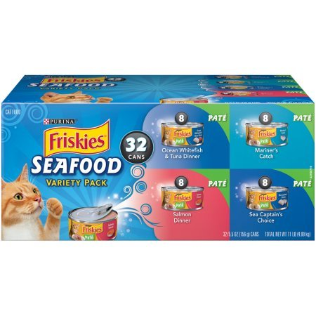 Amazon.com: Purina Friskies mariscos adulto comida húmeda ...