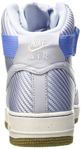 Nike Womens Air Force 1 Hi Prm Porpoise/Porpoise Basketball Shoe 8 Women US by NIKE (Image #2)