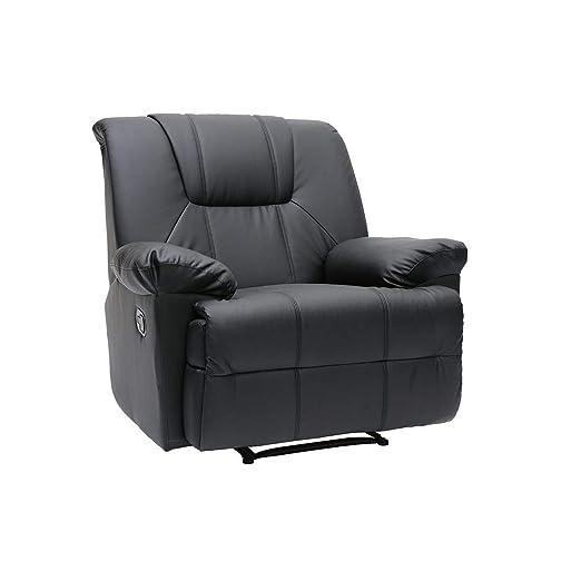 Miliboo - Sillón de Relax ROSS de color negro: Amazon.es: Hogar
