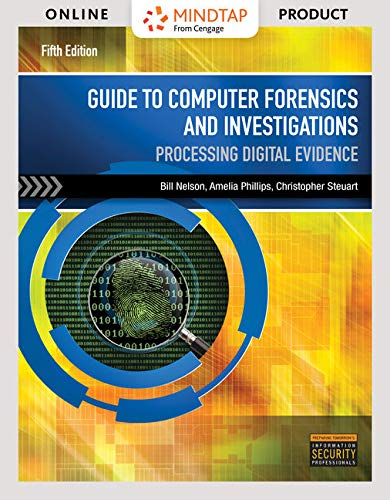for Nelson/Phillips/Steuart's Guide to Computer Forensics and Investigations via Live Virtual Machines, 5th Edition [Online Code] ()