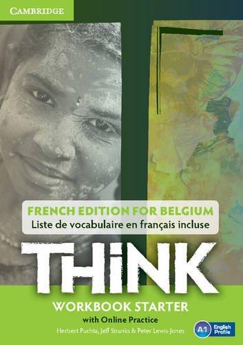 Think Starter Workbook with Online Practice (for Belgium)