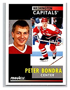 1991-92 Pinnacle #87 Peter Bondra Capitals