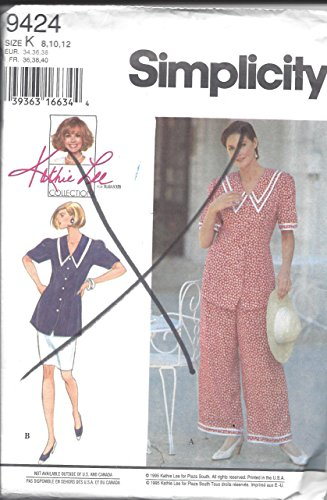Simplicity Misses'/Miss Petite Pantsuit or Two-Piece Dress Sewing Pattern 9424 Sizes 8, 10, 12 ()