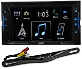 Cheap JVC KW-V130BT 6.2″ 2-Din DVD Player Receiver w/Bluetooth iPhone/Android+Camera