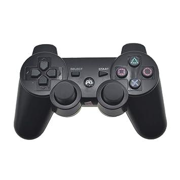 JJSS Gamepad PS3 Inalámbrico Bluetooth Gamepad Controlador Bluetooth Palanca De Mando Consola Inalambrica,A