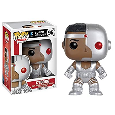 Funko POP Heroes: Classic Cyborg Action Figure: Funko Pop! Heroes:: Toys & Games