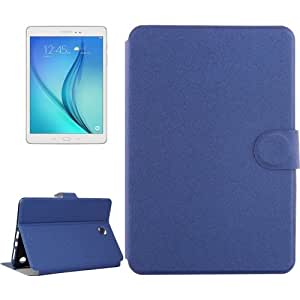 Golden Sands Beach Texture Horizontal Flip Leather funda case cover + Lápiz GRATIS con Holder & bolsillos internos & Wallet para Samsung Galaxy Tab A 8.0/T350(Dark Blue)