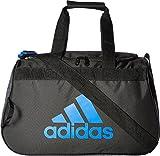 adidas Diablo Small Duffel Bag, One Size, Black/Blue