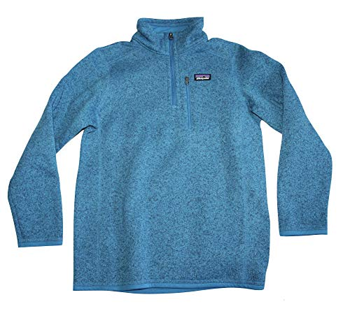 Patagonia Child/Kids Boys' Better 1/4 Zip Sweater (Large 12) Balkan Blue by Patagonia (Image #2)