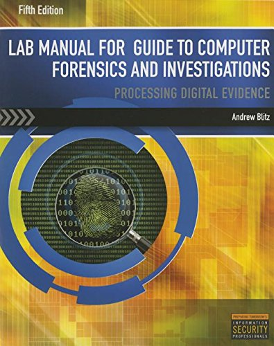 LM Guide to Computer Forensics & Investigations - Lab Manual