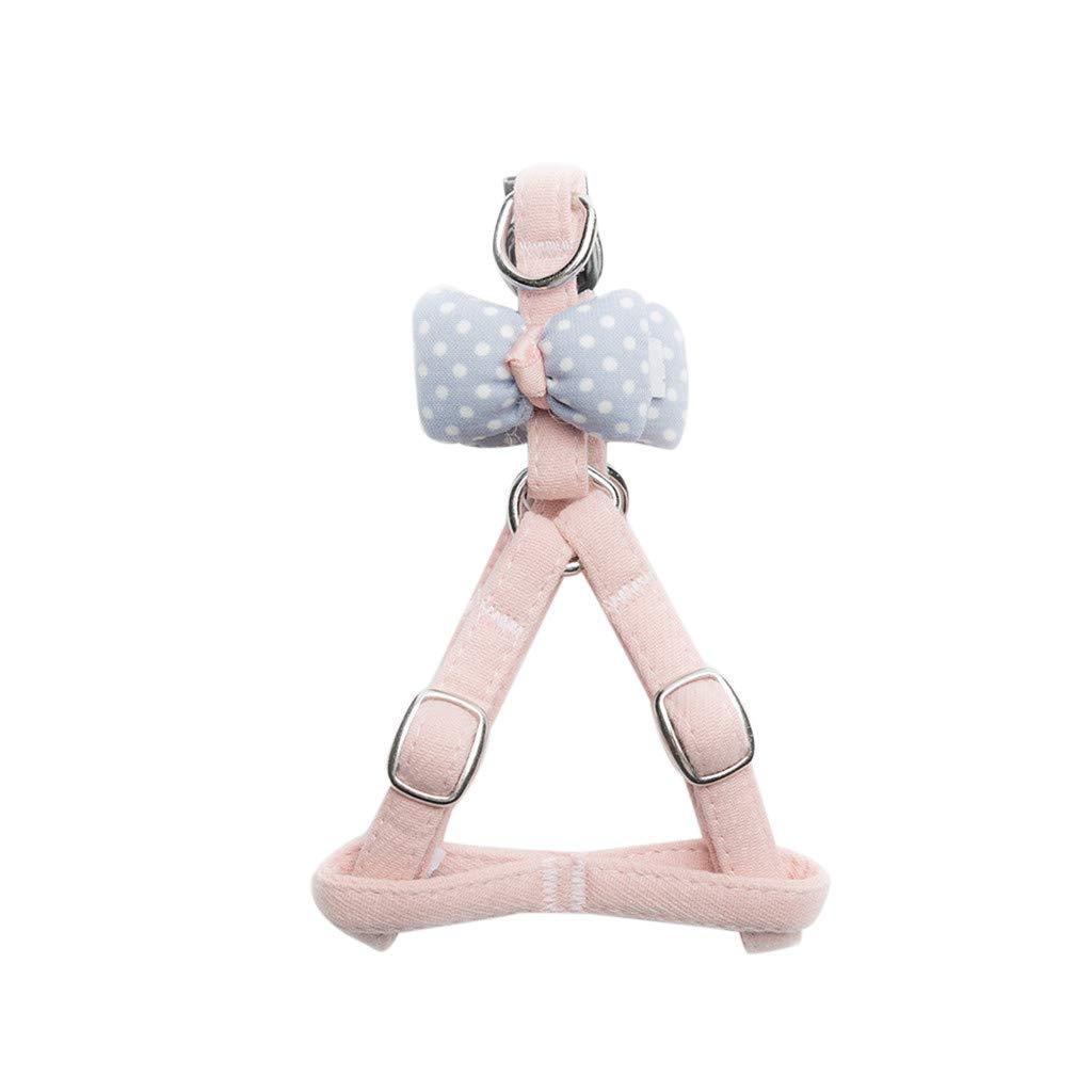 callm Pet Cat Dog Tie Pillow Knot Vest Chest Straps Belt Set Adjustable