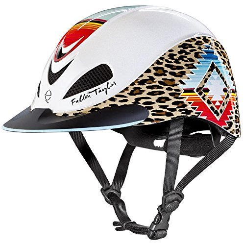 Size Troxel Chart Helmet (TROXEL PEARL LEOPARD ♦ DESIGNER EQUESTRIAN HELMETS by FALLON TAYLOR ♦ ASTM / SEI CERTIFICATION ♦ All Sizes (Medium))