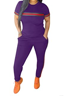 Chic To Max Womens Tracksuit Set 2pcs Plus Size Sports Outfits Long Sleeve Top And Bodycon Pants Jogging Suit Sweatsuits For Women Ladies Buy Online In India At Desertcart In Productid 179498382