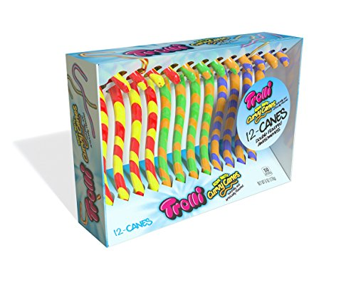Trolli Curvy Canes are good Easter basket stuffers for tweens