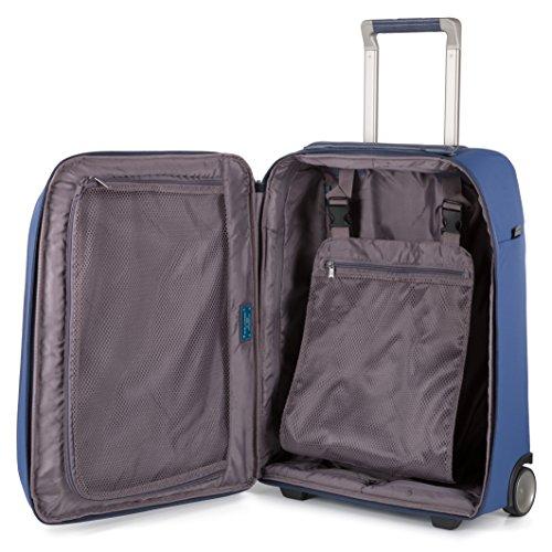 P16S pelle porta in mano bagaglio BV3200P16S pc Piquadro a Avio e UNICA Blu con Avio Avio e tablet Trolley tessuto AV IxqOxzw0n