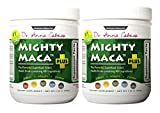 Mighty Maca Plus (2 Pack) - Delicious, All-Natural, Organic Maca Superfoods Greens Drink, Allergen & Gluten Free, Vegan, Powder