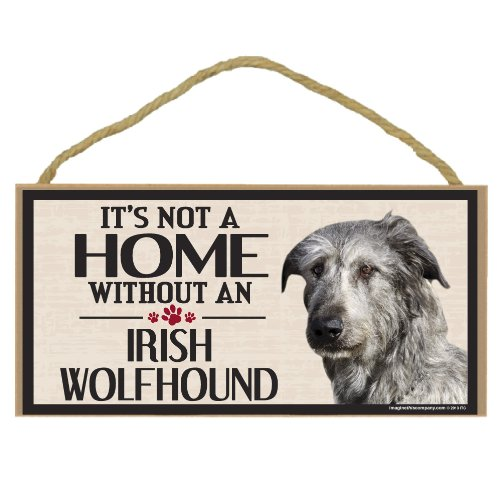- Imagine This Wood Sign for Irish Wolfhound Dog Breeds
