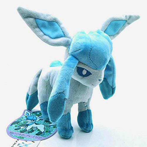 7'' Pokemon Go Glaceon Collectible Plush Toy Soft Stuffed...