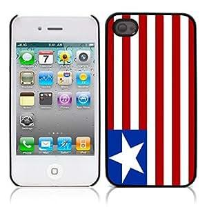 Libby fruit sub flag Hard Plastic and Aluminum Back Case for Apple iphone 4 4S