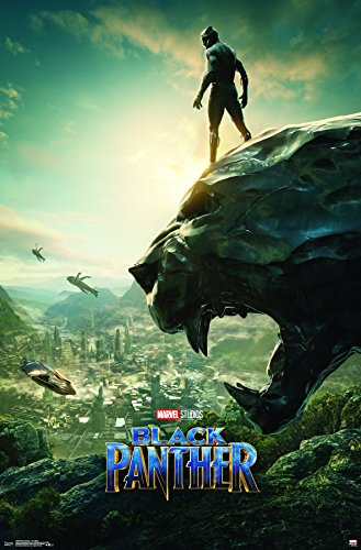 Trends International Wall Poster One Sheet Black Panther, 22