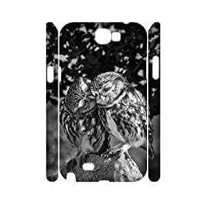 Owl Cheap Custom 3D Cell Phone HTC One M7 , Owl HTC One M7 3D Case