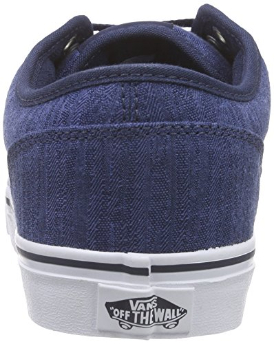 Vans Mens Atwood Shoe Distress Dress Blu Bianco