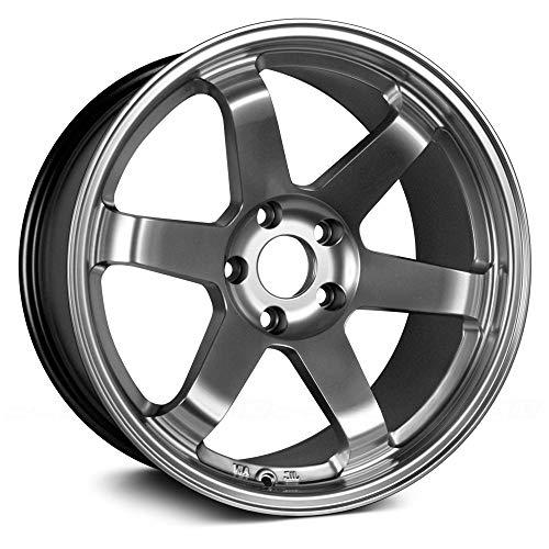 (Avid.1 AV-06 Hyper Black 17x8 +35 5x114.3 (4 New Wheels))