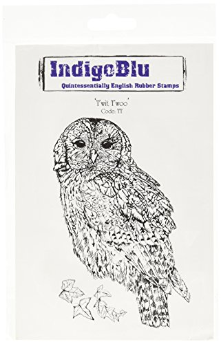 Indigoblu Cling Mounted Stamp  5 By 4 Inch  Twit Twoo