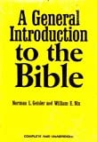 img - for A General Introduction to the Bible book / textbook / text book