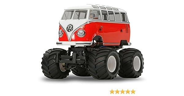 Volkswagen Type 2 >> Volkswagen Type 2 Wheelie Radio Control Car 1 12 Scale 58512 Tamiya