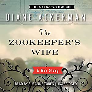 Image result for The zookeeper's wife audiobook cover