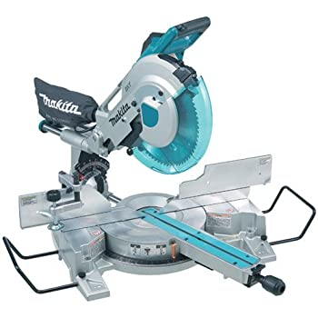 miter saw labeled. makita ls1216l 12-inch dual slide compound miter saw with laser labeled e