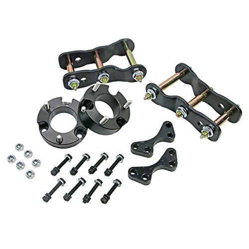 """Front 3"""" Rear 2"""" Lift Kits Strut Spacer Shackle Fits For Isuzu D-Max 4WD TFR TFS 12++"""